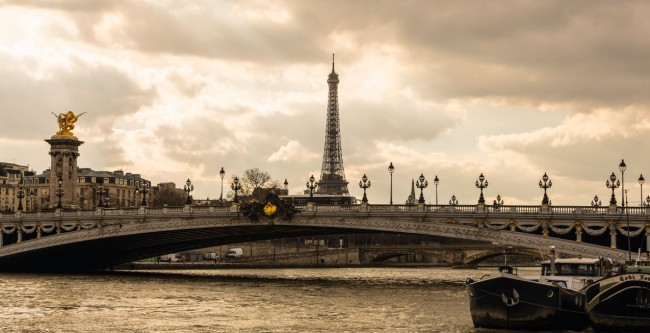 Paris Pont Alexandre 3