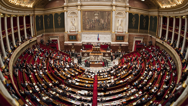 Hemicycle Assemblée Nationale