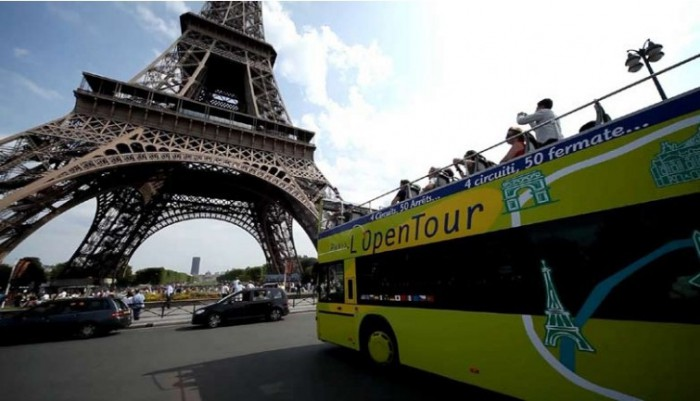 Bus Open Tour à Paris