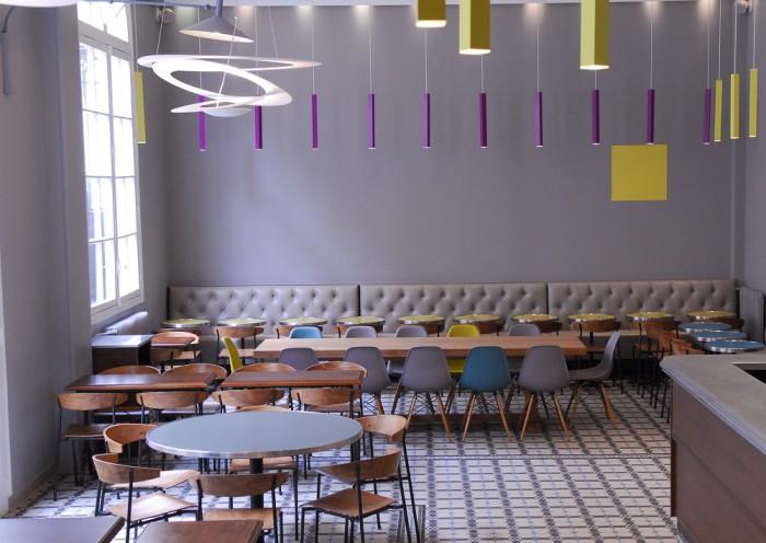 Cafétéria BVJ Champs Elysees