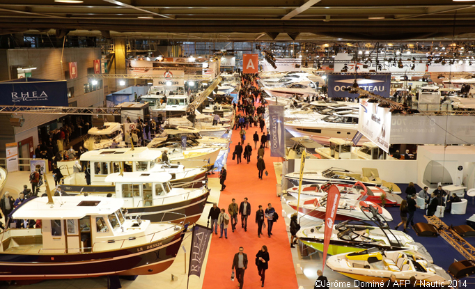 Participez au salon nautique international de paris for Salon nautique nantes