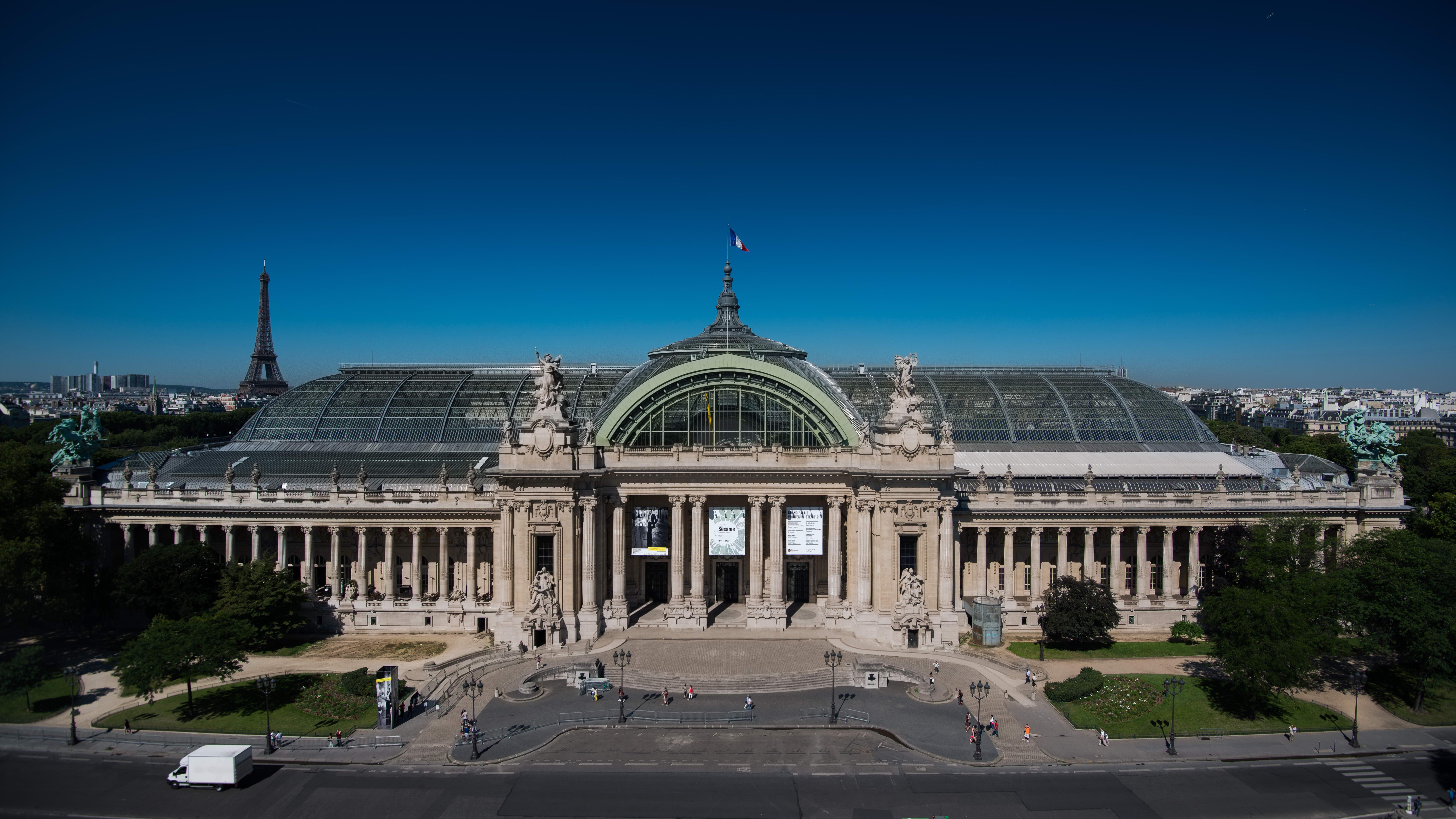 GRAND PALAIS - expo PARIS - sortie pedagogique - hebergement BVJ PARIS LOUVRE