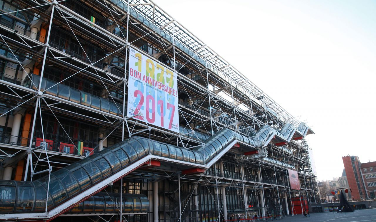CENTRE POMPIDOU - College et Lycee PARIS - hebergement groupe A PARIS