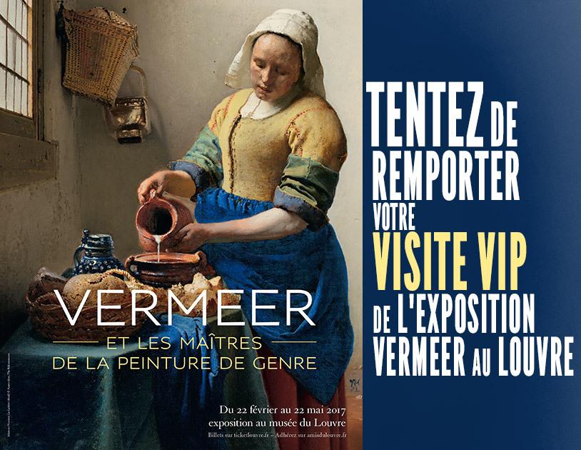 Exposition veermeer paris for Exposition paris 2017