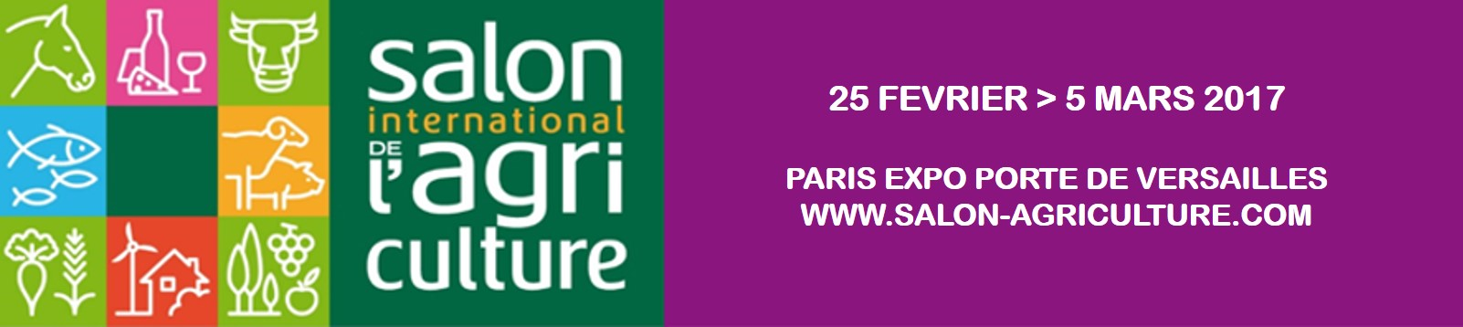 hebergement exposant salon international de l agriculture PARIS