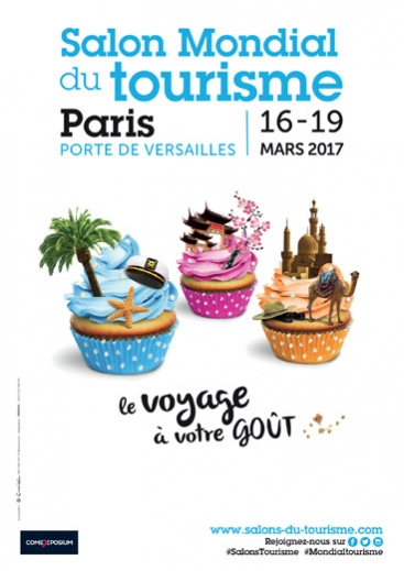 Paris salon mondial du tourisme for Salon paris mars 2017