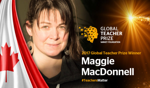 Maggie MacDonnel GLOBAL TEACHER PRICE