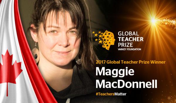 Maggie MacDonnel GLOBAL TEACHER PRICE