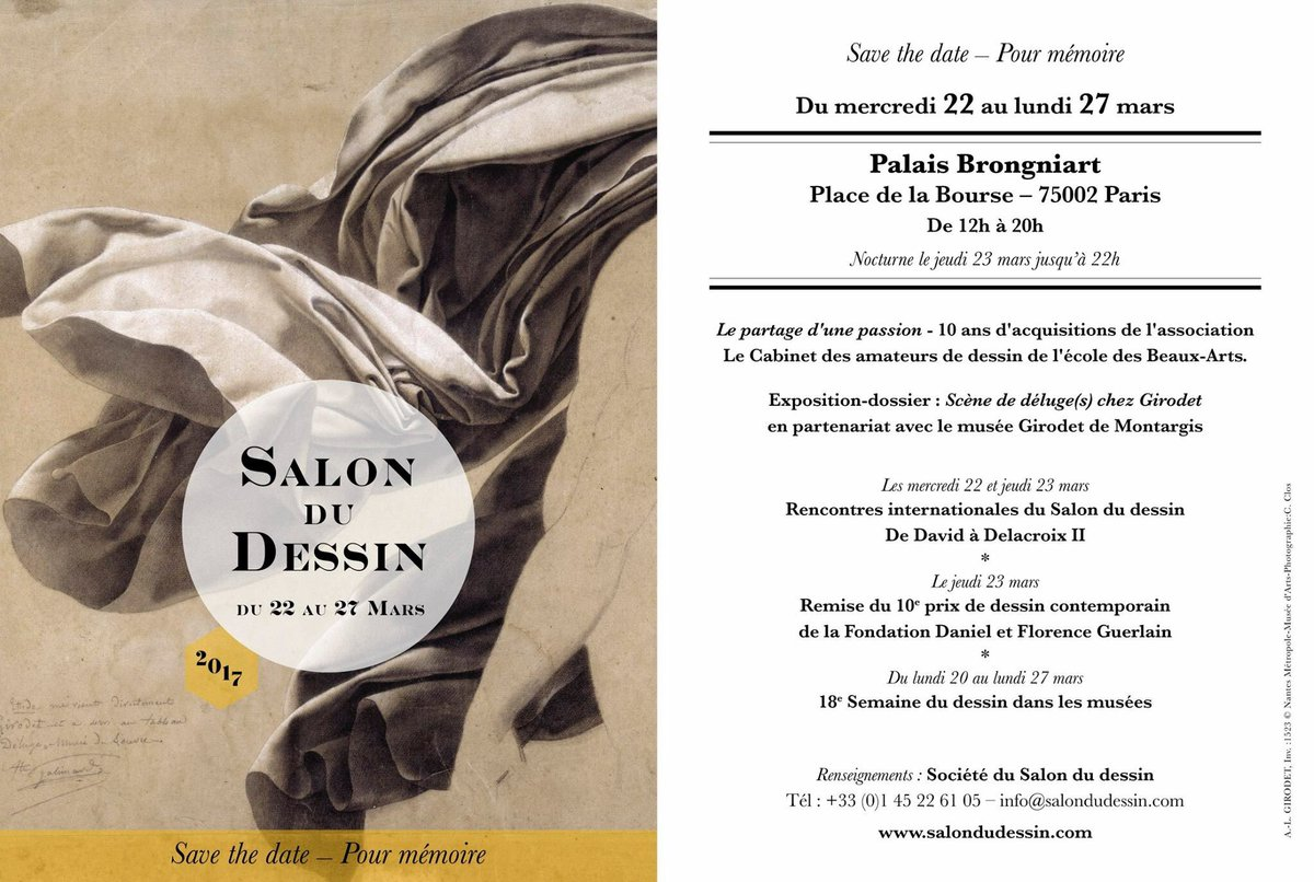 Salon du Dessin à Paris