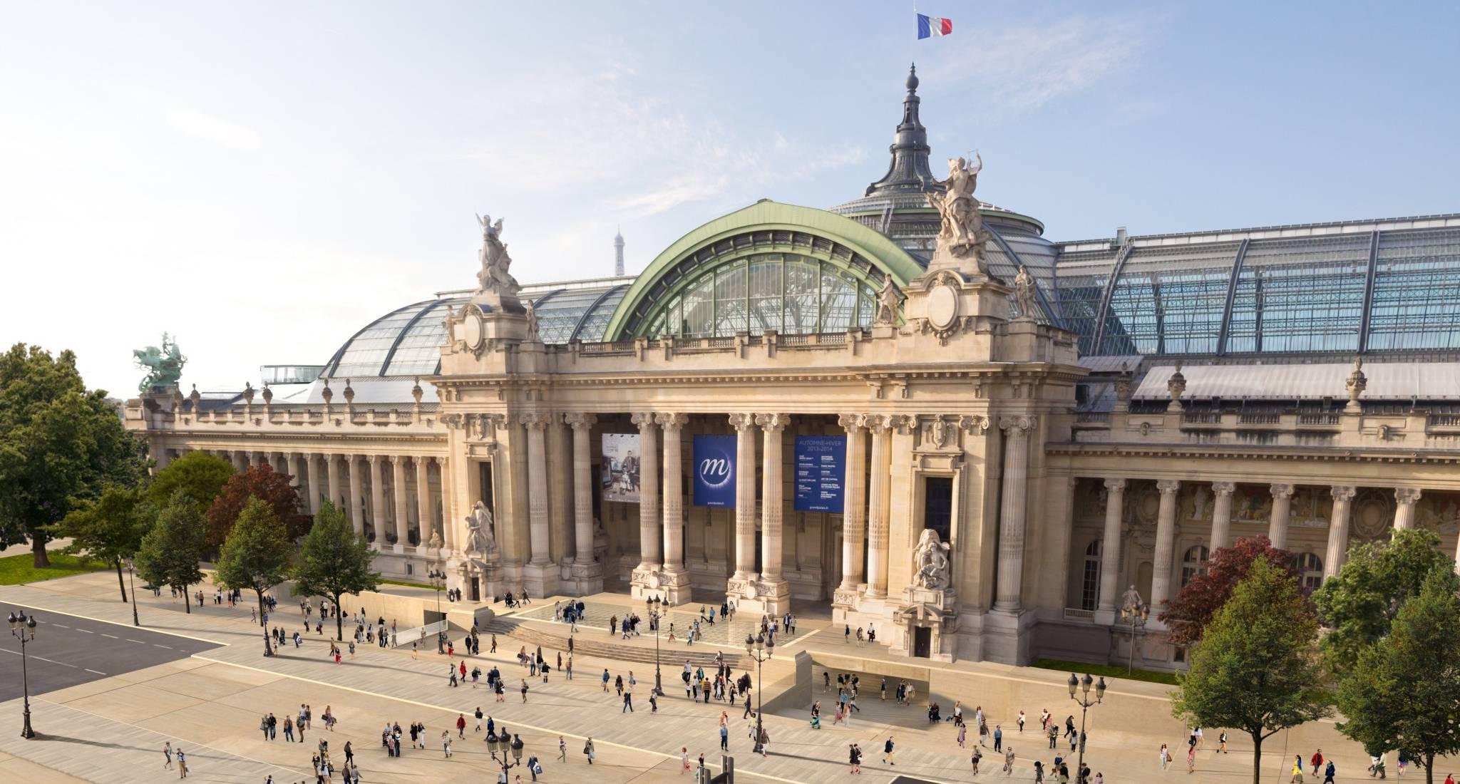 Kết quả hình ảnh cho Grand Palais