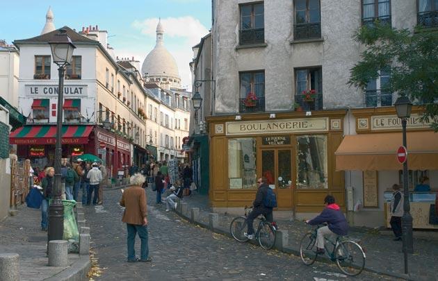 conhecer Paris a pé