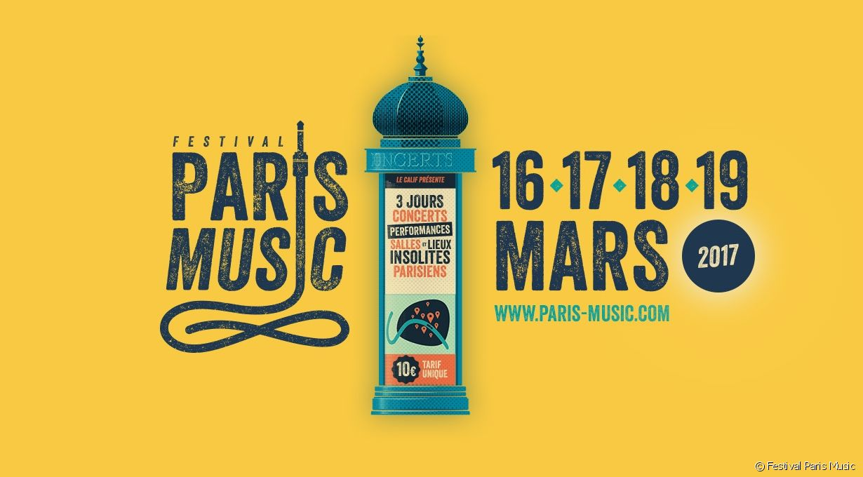 paris music festival cartaz