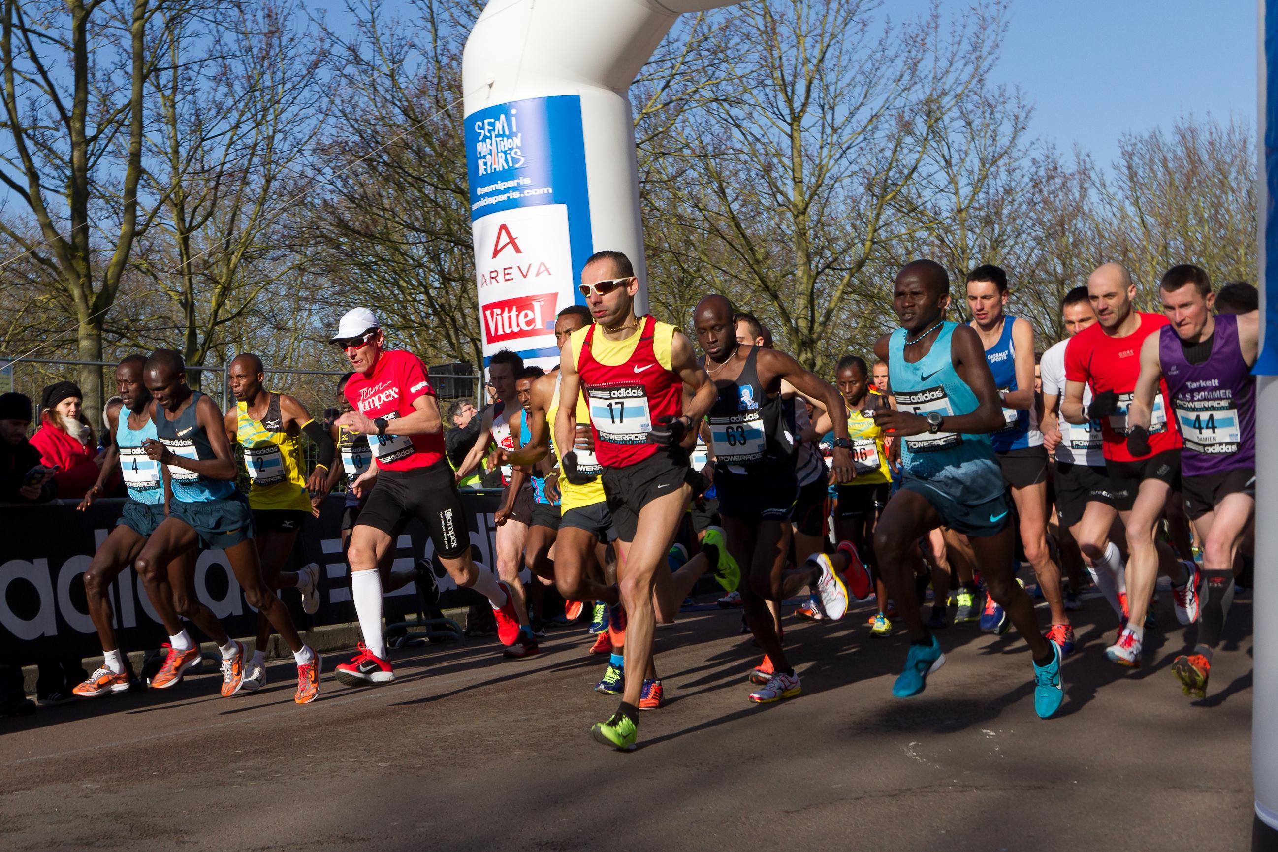 Paris Half Marathon 2014 / Semi-marathon de Paris 2014