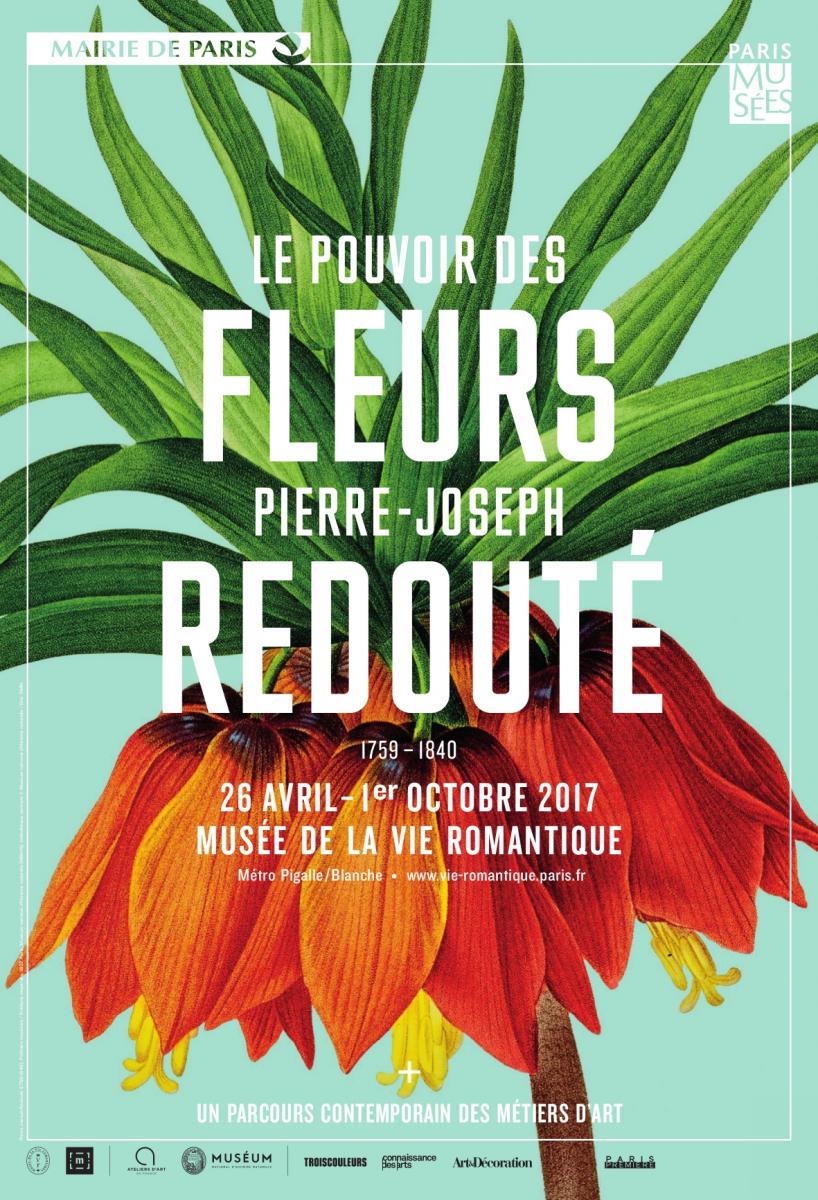 Le pouvoir des FLEURS Pierre-Joseph REDOUTE - logement auberge de jeunesse PARIS