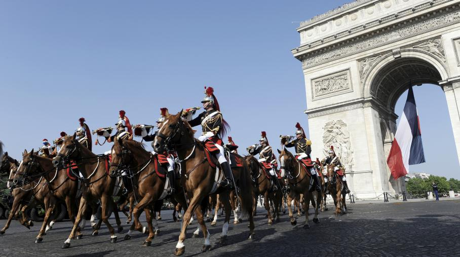 14 JULY in PARIS BASTILLE DAY PARADE