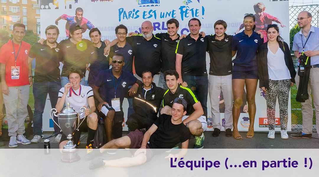 EQUIPE PARIS WORLD GAMES