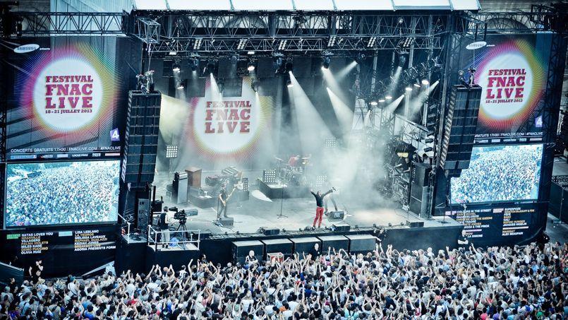 hebergement PARIS FESTIVAL FNAC LIVE - BVJ PARIS - auberge de jeunesse