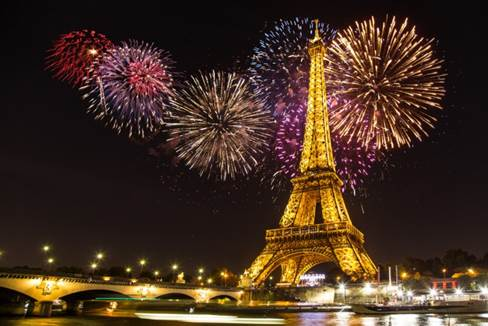 PARIS FIRE WORKS
