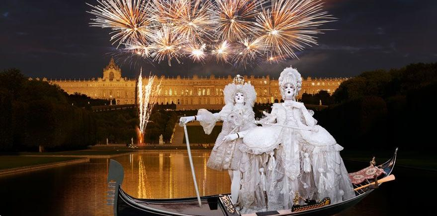 Versailles-night-water-show