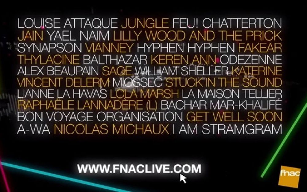 fnac live PARIS - hebergement auberge de jeunesse
