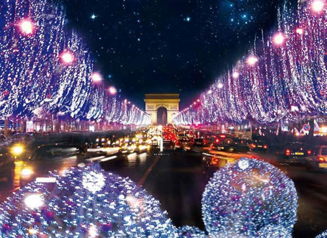 5 things to do in paris at christmas - Illumination noel paris 2017 ...
