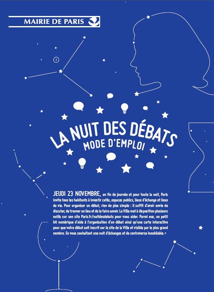 HEBERGEMENT PARIS - LA NUIT DES DEBATS PARIS