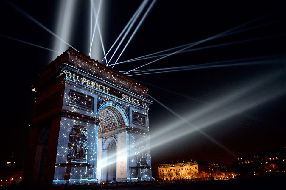 accommodation for new year in PARIS