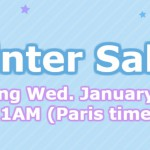 WINTER SALES in PARIS