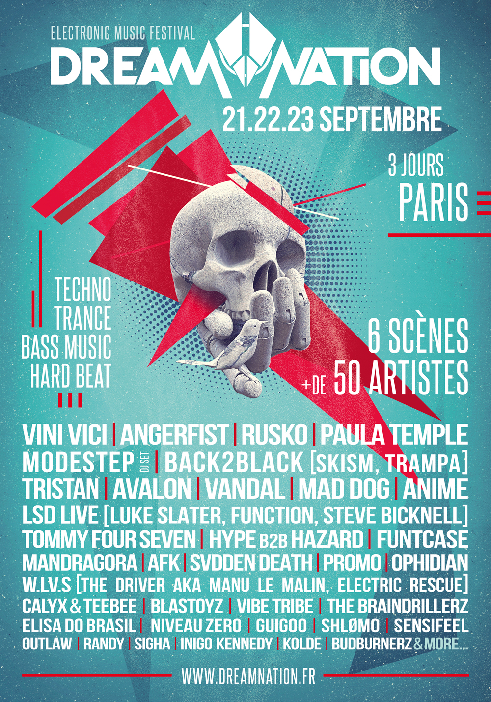 Affiche Dream Nation Festival 2018