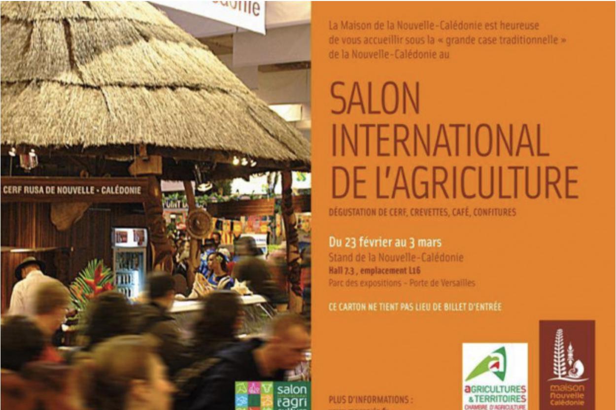 Nouvelle Caledonie au Salon International de l'Agriculture a PARIS